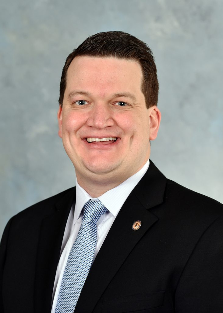 State Representative Andrew Chesney Headshot